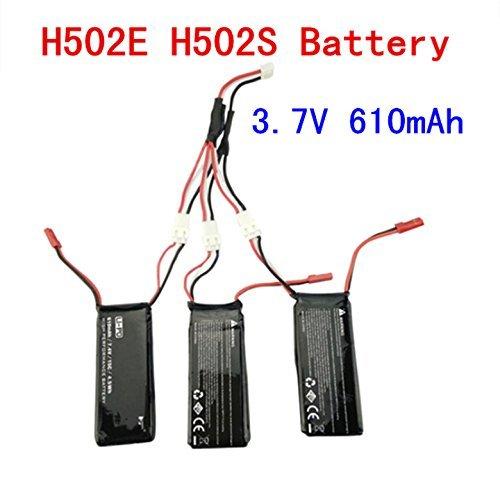3 Baterias Para Drone Hubsan H502s H502e (610mah)