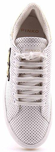 Pinko 1h209p-y395, Basses Femme Blanc
