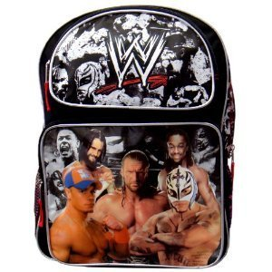 WWE Large Backpack - Full Size Wrestling Backpack by Ruz