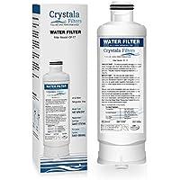 Crystala DA97-17376B Water Filter Compatible Samsung Genuine DA97-08006C Refrigerator Water Filter, 1-Pack (HAF-Qin/EXP)