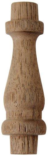 Platte River 801712, 5-pack, Wood Specialties, Spindles & Finials, 1-1/2'' Walnut Spindles by Platte River (Image #1)