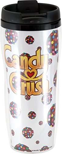 Candy Crush Insulated Color Bomb Travel Mug (Candy Crush Color Bomb compare prices)