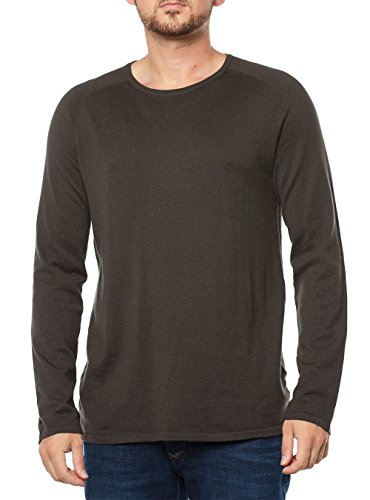 HUGO BOSS SWEATSHIRT HERREN PULLOVER 50323506 SAN FRANCISCO DUNKELGRÜN DARK GREEN MEN