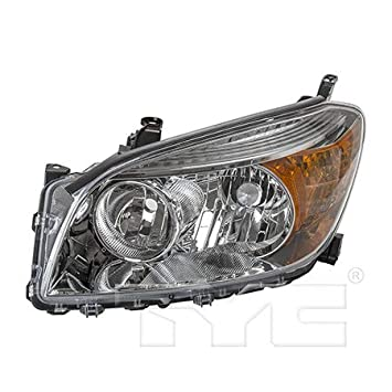 Fits 2006-2008 Toyota RAV4 Headlight Driver Side NSF Certified Lens and Housing Only TO2518106