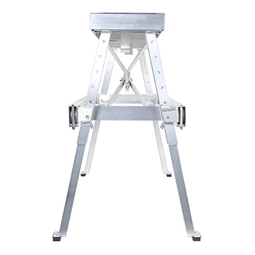 GypTool Adjustable Height Drywall Taping & Finishing Walk Up Bench: 18 in. 30 in.