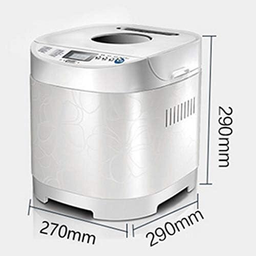 Brotbackautomat Maschine Programmierbare Familie Frühstück Toast Dough 2LB 3 Loaf Größen 3 Crust Farben 13-Stunden-Verzögerungs-Timer 1-Stunden-Warm 650W Halte