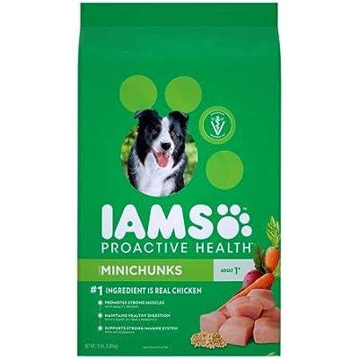Iams Proactive Health Adult Minichunks Dry Dog Food Chicken, 15 lb. Bag