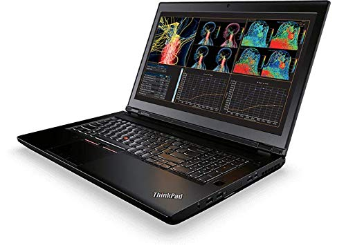 Lenovo ThinkPad P71 Workstation Laptop – Windows 10 Pro – Xeon E3-1535M, 8GB RAM, 4TB SSD, 17.3″ UHD 4K 3840×2160 Display, Quadro P4000 8GB GPU, Color Sensor, DVD±RW, , 4G LTE WWAN