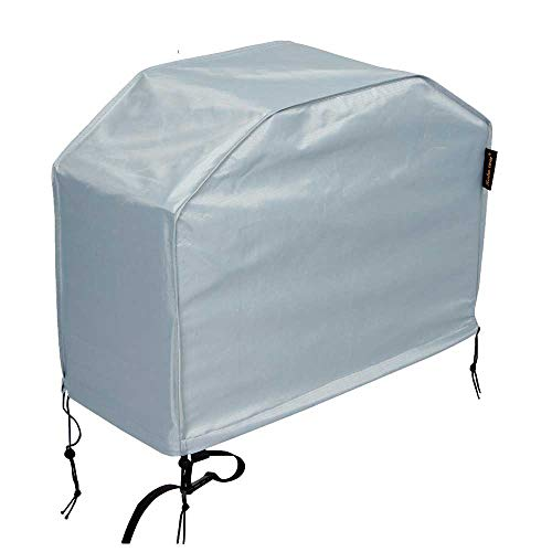 Hentex 48-inch Grill Cover with Durable Waterproof Velvet Liner, with Drawstring, for Weber, Char Broil, Nexgrill, Brinkmann,Holland and Jenn Air