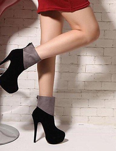 Beute Heel Offene Stiletto Schuhe Damen Zehen Schuhe Synthetik Outdoor Citior Casual Bootie Stiefel Damen Stiefel pvqtwfB0