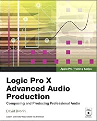 In this Apple-certified guide, author David Dvorin demonstrates the powerful advanced features in Logic Pro X. Starting with advanced setup, he teaches you invaluable real-world techniques for music production and editing, mixing, nota...