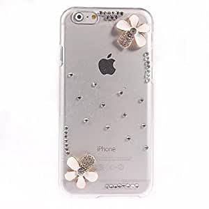 LZX Lovely Flower Design PC Hard Case for iPhone 6 Plus