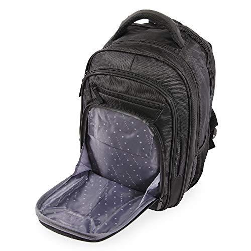 41bMaBtfynL - Perry Ellis M160 Business Laptop Backpack, Black