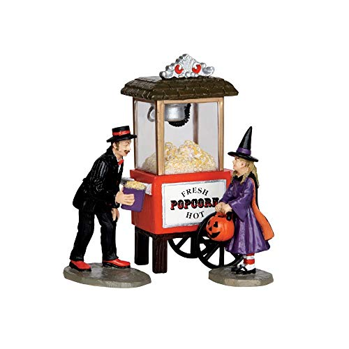 Lemax 32112 Popcorn Treats Spooky Town Figure Set of 3 Halloween Decor Figurine ()