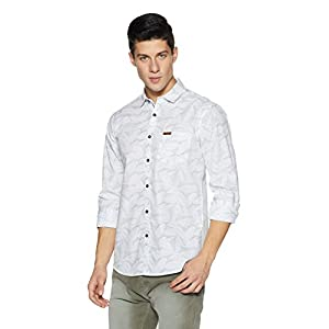 Amazon Brand – Symbol Men's Regular Fit Casual Shirts