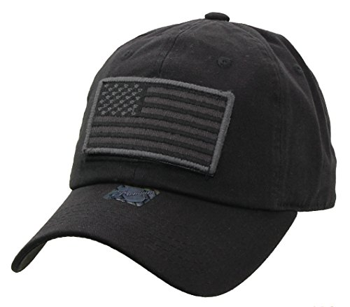 American-Flag-Detachable-Military-Baseball-Cap-7MIL001
