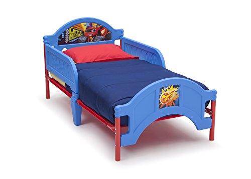 Delta Children Plastic Toddler Bed, Nick Jr. Blaze/The Monster Machines