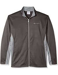 Men's Big and Tall Full C-Vapor with Side Panel Contrast Zip