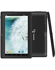 Yuntab Google Tablet 7 Pouces Q88 Android 4.4 Tablet PC Quad-Core 1 + 8Go Allwinner A33 HD 1024x600 1,5 GHz Pré-installé Double Caméra Google Play, WiFi, 3D, Bluetooth
