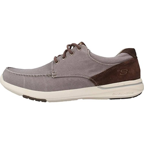 Skechers USA Men's Men's Relaxed Fit-Elent-Arven Boat Shoe Grey sale official top quality for sale b5uVCJ7sHh