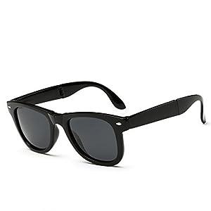 A-Royal Mens Fashion Cool Polarized Foldable Wayfarer Sunglasses(C1)