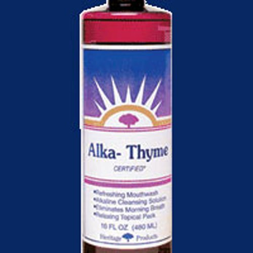 Heritage Store Alka-Thyme Mouthwash 16 oz ( Multi-Pack)