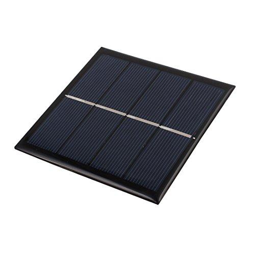 uxcell 90mmx90mm 1 Watt 2 Volts Polycrystalline Solar Panel for 1.5V AAA Battery