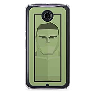 Hulk Nexus 6 Transparent Edge Case - Street Fighter Polygonal Collection