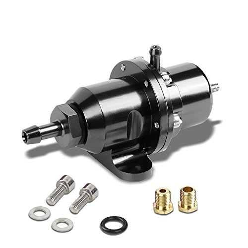 Titanium Bolt-On Adjustable Fuel Pressure Regulator For Honda/Acura B16/B18/F20/F22 (Honda Civic Fuel Pressure Regulator)