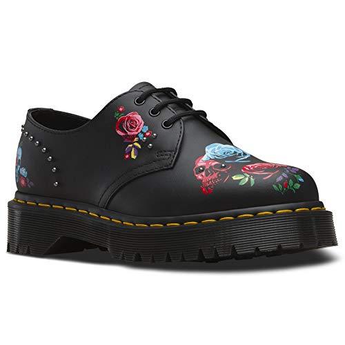 Shoe Women's Up 8 Hydo Size Leather Rose black 1461 Martens 8 Bex Dr Fantasy Black Lace wCqTvx