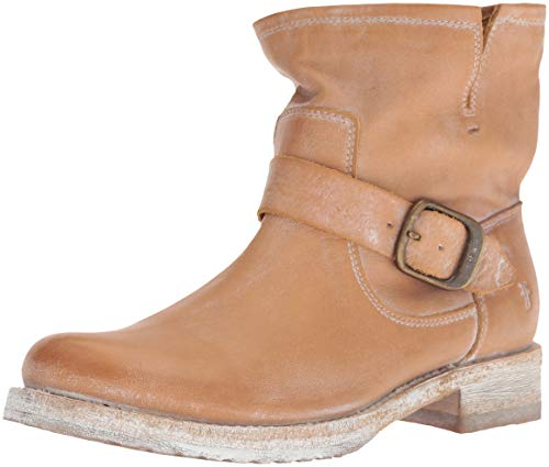 FRYE Women's Veronica Bootie Ankle Boot, tan, 7.5 M - Frye Boots Tan Boot