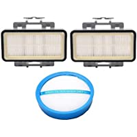 Hoover REACT QuickLift Bagless Upright Replacement Filter Kit, Includes (2) HEPA Cartridge Filters 40010868, (1) Blue Washable Primary Filter 440010860
