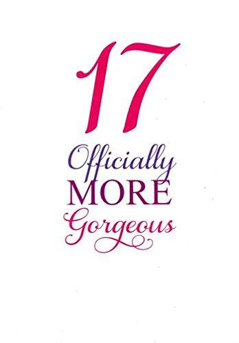 17 producto oficial más Gorgeous. 17 (diecisiete) tarjeta de ...