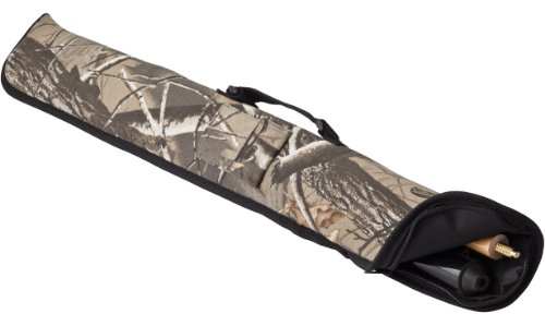 Viper Billiard/Pool Cue Soft Vinyl Case, Holds 1 Complete 2-Piece Cue (1 Butt/1 Shaft), Realtree Hardwoods HD Camo (Soft Billiard Cue Case)