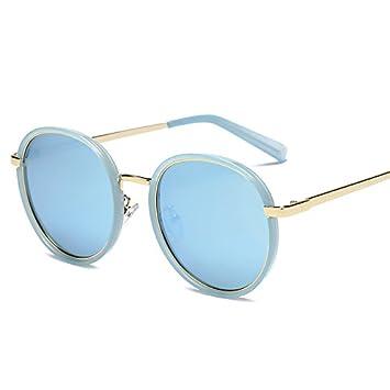 gafas de sol Nueva cara redonda, grandes cara, gafas de sol polarizadas y gafas