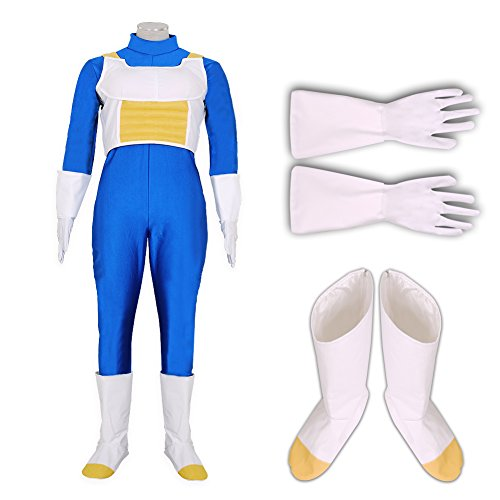 [CG Costume Men's DRAGON BALL Vegeta Costume Cosplay Medium] (Bulma Costume)