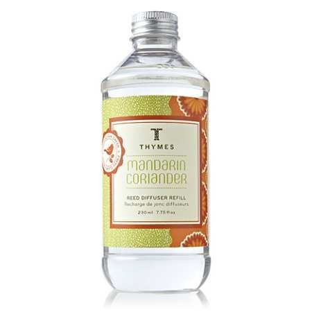 Thymes Reed Diffuser Oil Refill, Mandarin Coriander