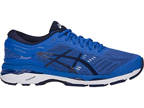 ASICS Men's Gel-Kayano 24 Running Shoes, 9.5M, Victoria Blue/Indigo Blue/Whit