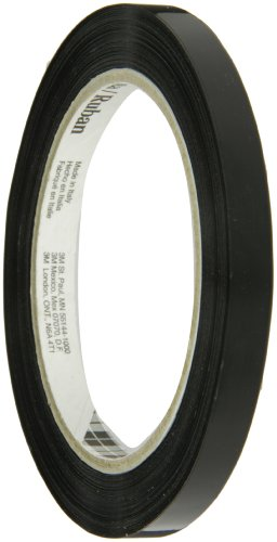Tartan Strapping Tape 860 Black, 9 mm x 55 m (Case of 192) by Tartan