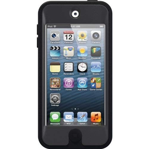 OtterBox Defender Series Case for iPod Touch 5th Generation (Renewed) (Black)