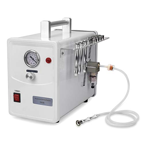 Professional Diamond Microdermabrasion Dermabrasion Machine Facial Care Device Equipment (Suction Power: 0-68cmHg) (Best Professional Diamond Microdermabrasion Machine)