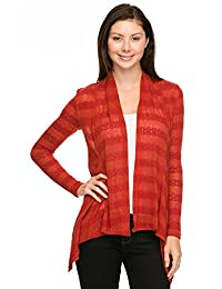 2LUV Plus Women's Plus Knit Cardigan
