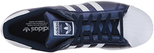 adidas Originals Herren Superstar Fashion Sneaker Boblue / Ftwwht / Ftwwht