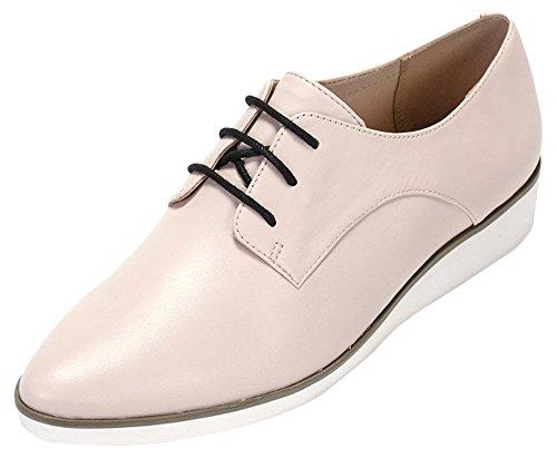 Clarks Cressida Grace - Zapatos de cordones derby Mujer Rosa (Nude Pink Lea)