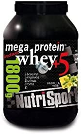 Nutrisport Mega Protein 5 Whey Chocolate 1,8Kg. 1800 g