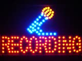 ADV PRO led109-r Recording On Air Microphone Decor Led Neon Sign