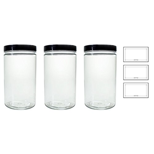 Clear Plastic Free Large Refillable