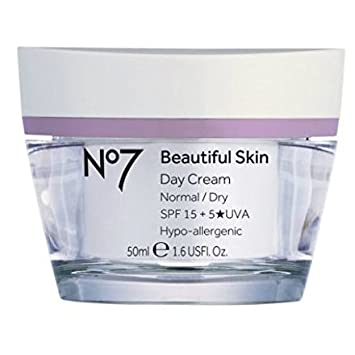 No7 Beautiful Skin Day Cream for Normal Dry Skin 50ml by No7