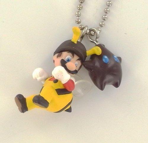 Super Mario Galaxy Wii - Figura Llavero Mario Abeja: Amazon ...