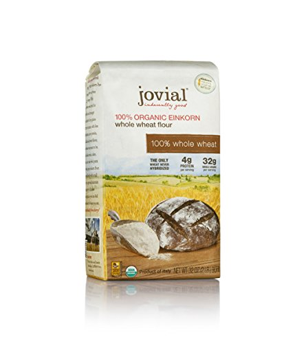 - Jovial 100% Organic Einkorn Whole Wheat Flour 32oz